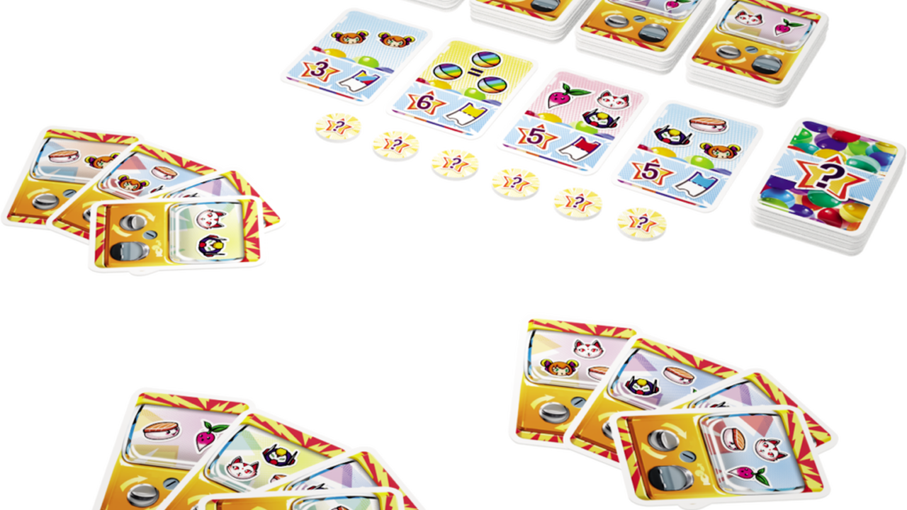 Le petit jeu de collection Gasha est idéal pour jouer avec des enfants ou des débutants