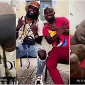 Adebayor Finally Visit Funny Face and Reunites. See Pictures.