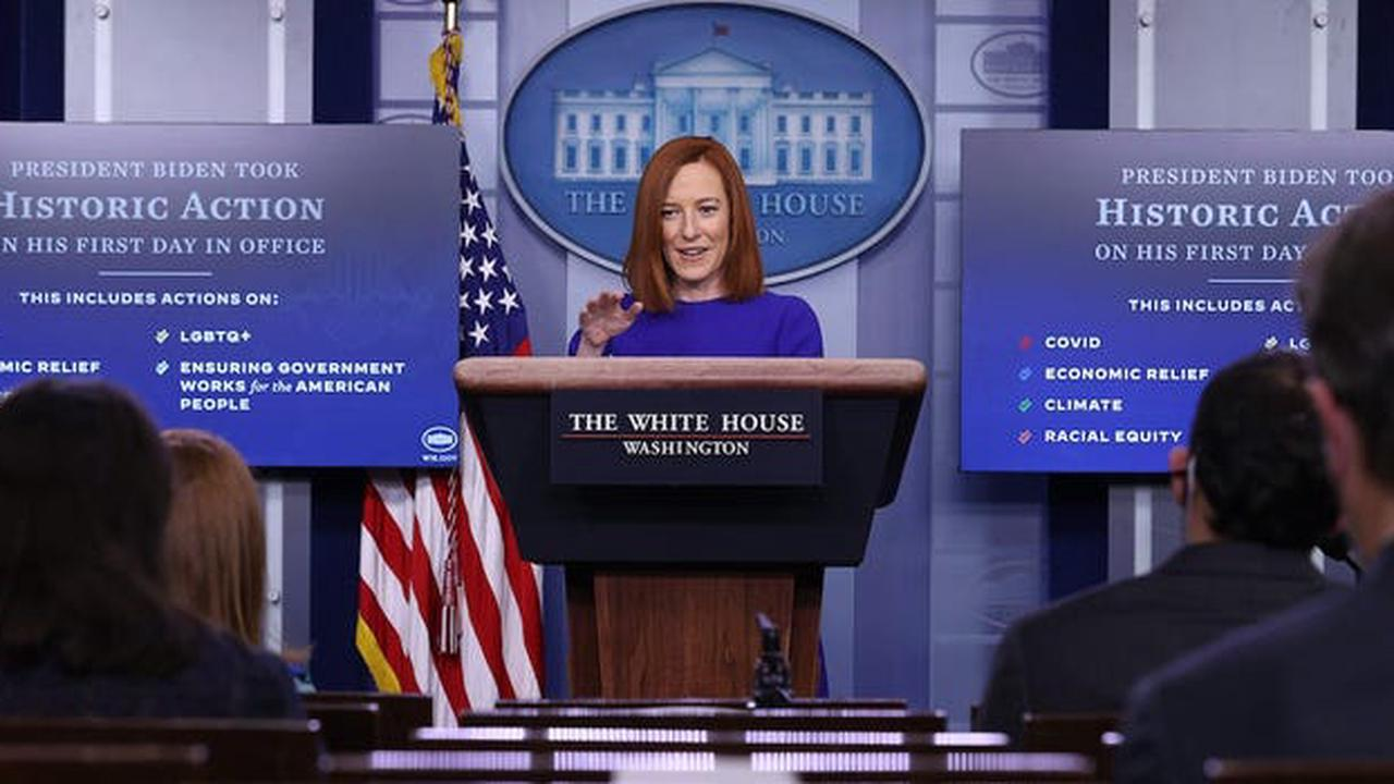 A 2017 Jen Psaki tweet questioning the legality of bombing Syria is reemerging after Biden launched an air strike