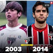 Kaka, Tevez And Other Football Legends Who Went Back To Their Boyhood Clubs.
