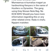 Hessy Wa Dandora Issues Warning To These Thugs