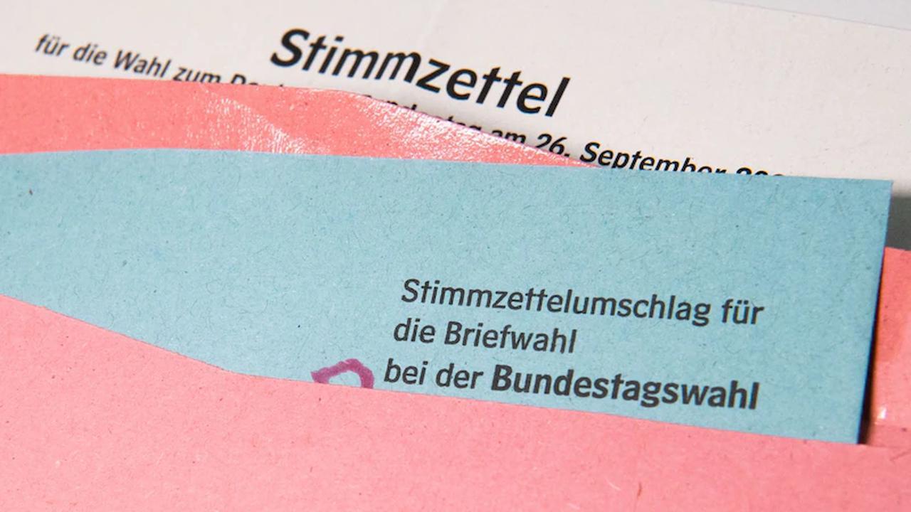 Gut zwei Millionen sind zur Bundestagswahl aufgerufen