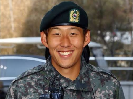 Tottenham's Heung-Min Son set for military service