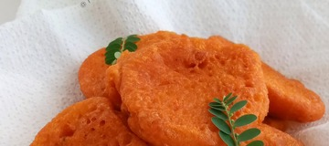 How to Make Nigerian AKARA with PALMOIL in 4 Easy Picture Steps.