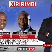 Kimani Ichungw'a Deconstructs President Uhuru Kenyatta On Live TV Over What He Said At Mululu