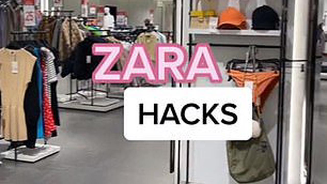 REVEALED: The hidden symbols on Zara tags that tell you whether your clothing is true to size