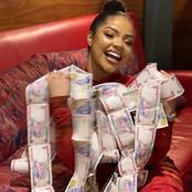 Nengi fans in Uk gifted her cash gift and some other items (photos)
