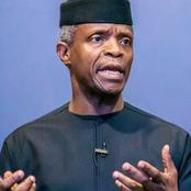 Osinbajo Assures Nigerians, Read What He Said Buhari's Government Will Do For 25M Nigerians