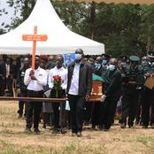 Bungoma: Tears Flow as Wamunyinyi's Brother Is Laid To Rest