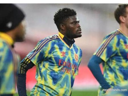 Thomas Partey Has A Chance To Feature For Arsenal Against Leeds This Weekend