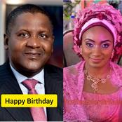Meet The Lady Who Refused To Marry Aliko Dangote 12 Years Ago. The Richest African Is 64 Years Today