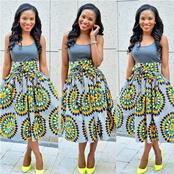 Best Design Ankara Outfit For All Type Of Outfit You Want