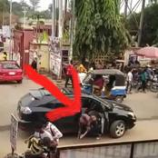 Mixed Reactions As Lady Allegedly Run Mad After Being Dropped By Suspected Yahoo Boys