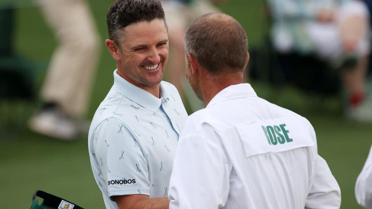 Justin Rose recaptures best form as Rory McIlroy toils at The Masters
