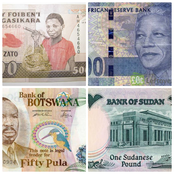 African Countries And The Name Of Their Currencies.