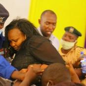 Senator Omanga Causes Drama At NCIC Offices