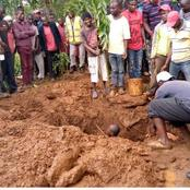 A Middle Aged Man Found Dead In A Pit Latrine