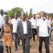 Legislatives Toumodi S/P / Le candidat indépendant Amani Hervé