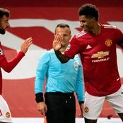 Marcus Rashford sets Manchester Joined club record