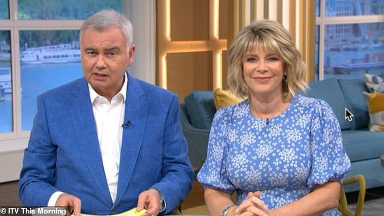 Eamonn Holmes reveals he once told Anne Robinson he would 'knock her f***ing head off' after she accused him of 'sacrificing fatherhood for fame'
