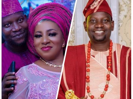 24 Hours After Actress Mide Observed Her 42nd Birthday, Her Hubby Afeez Owo Celebrates His Birthday.
