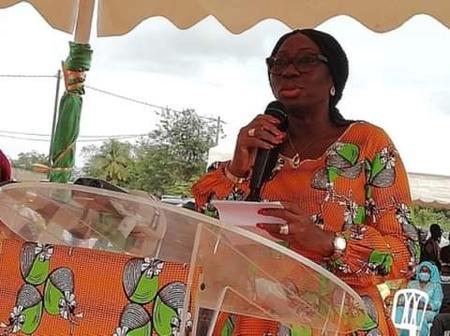 La ministre Kandia Camara donne des nouvelles du premier ministre Hamed Bakayoko