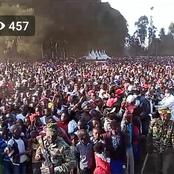 'King of Crowds', Ruto Pulls Massive Crowds In Meru in His Final Day Of His Tour