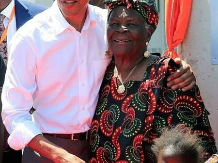 Mama Sarah Obama dies today at the age of 99 years