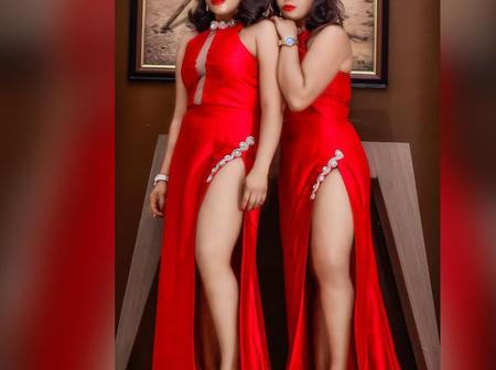 Destiny Etiko celebrate twin sisters who are Nollywood actresses on their birthday