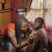 Hilarious Comments by Kenyans Online as Dj Shiti Gets A Jesus Cross Tattoo