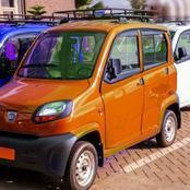 Photos Of Nana Addo's Mini Cars To Replace 'Okada'.