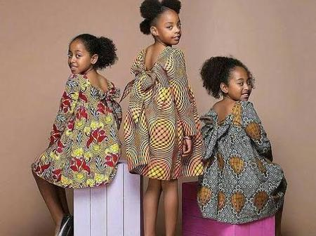 Dear Mumies, Dress Up Your Little Girl Like A Princess With These Mind-blowing Ankara Outfits