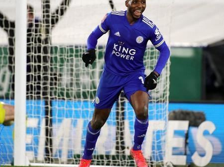 Victor Osimhen, Onyekuru react to Kelechi Iheanacho's statement after netting brace against Man Utd
