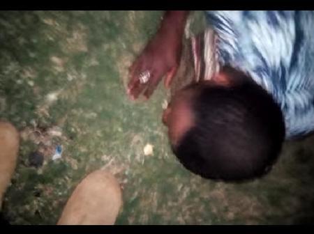 Night Drama As a Wanted Thug Face The Full Wrath Of An Angry Mob In Kiambu
