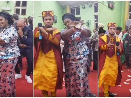 See what Rita Edochie did at her thanksgiving service in Odumeje's Church