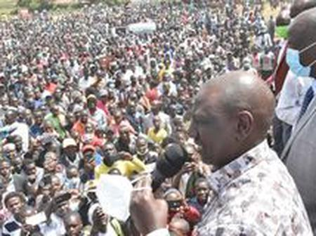 VIDEO: Why Gideon Moi Should Worried After Watching This Video DP Ruto In Kabarnet, Baringo