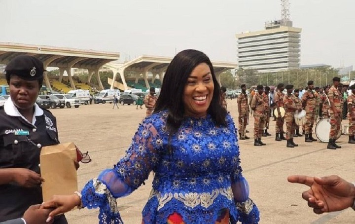 0193928c088741dab8c88cc7c43ef82f?quality=uhq&resize=720 - Grammar Is Not What We Will Chop, She Brought In 275 Ambulances - Nana Brefo Defends Hawa Koomson