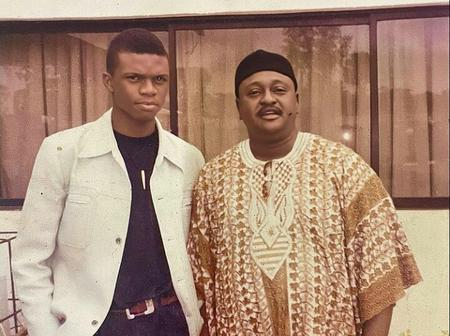 See Throwback Pictures Of Ken Erics And Some Veteran Nollywood Actors