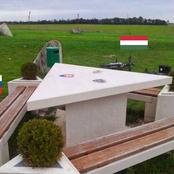 Magical Table Where You Can Eat In 3 Countries At The Same Time Without Crossing Borders