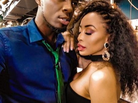 Aaron Moloisi left fans shook, when he said this about him and Khanyi Mbau