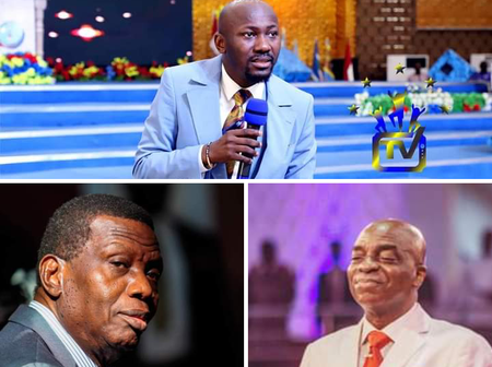 Apostle Johnson Suleman On Pastor Adeboye And Bishop Oyedepo: What is the living doing among the dead