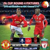 KBC Set To Air Live Manchester United Game Against Liverpool Scheduled This Sunday