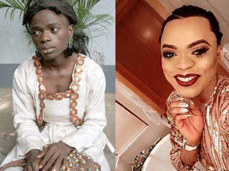 Throwback; See How Bobrisky Looks Different Without Make Up And Snapchat Filters.(Photos)