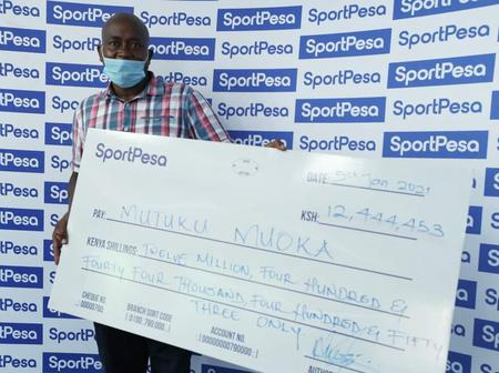Meet The Man Who Has Won The First Sportpesa Jackpot