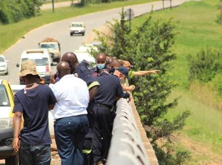 Man has jumped of the bridge trying to commit suicide in Limpopo