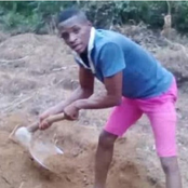 He got first-class in Maths but he started farming, he has received PhD Scholarship In the US