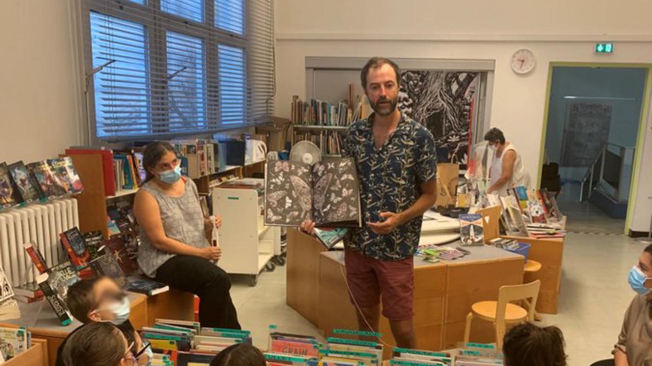 Festival de la BD de Bastia : Matthias Picard en version 3D avec les scolaires