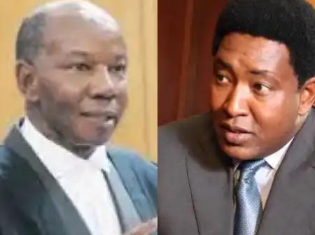 Senator Olekina Unveils Name of New Chief Justice, Promises Him Maasai Suites If he Doesn't Buy Some