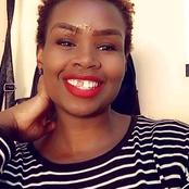 Kenyan Woman Excites The Public After Posting Her Gap Teeth Which Came As A Result Of An Accident