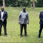 Speculation High As Raila Host Gideon Moi And Muhoho Kenyatta